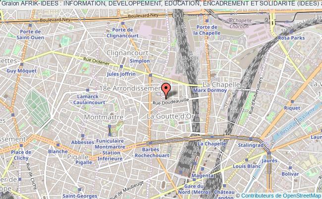 plan association Afrik-idees : Information, Developpement, Education, Encadrement Et Solidarite (idees) Paris