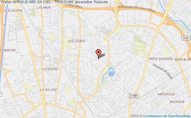plan association Afrique Arc En Ciel - Toulouse
