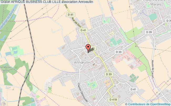 plan association Afrique Business Club Lille