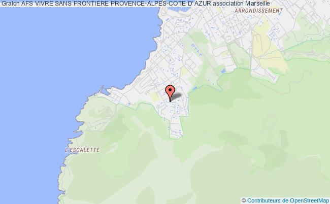 plan association Afs Vivre Sans Frontiere Provence-alpes-cote D' Azur Marseille