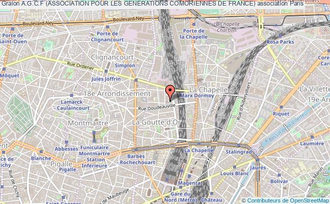 plan association A.g.c.f (association Pour Les Generations Comoriennes De France)