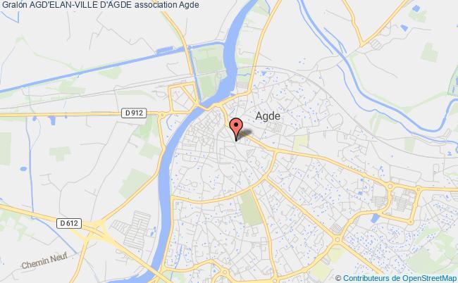 plan association Agd'elan-ville D'agde Agde