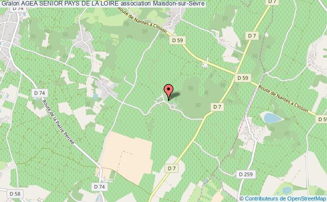 plan association Agea Senior Pays De La Loire Maisdon-sur-Sèvre