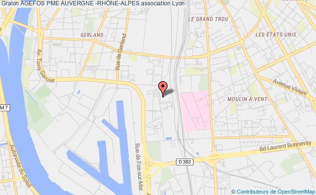 plan association Agefos Pme Auvergne -rhÔne-alpes