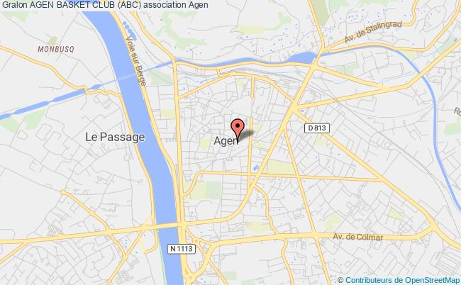 plan association Agen Basket Club (abc)