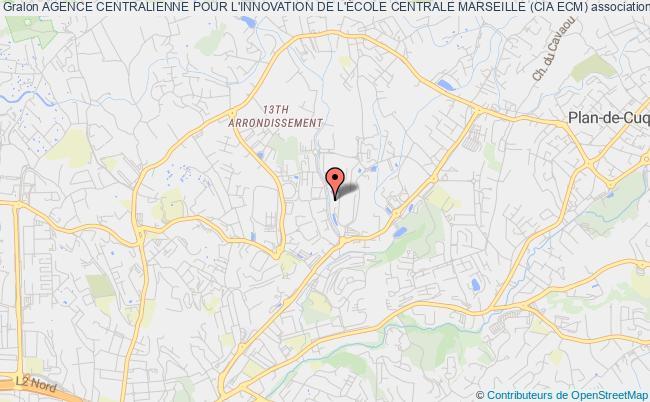 plan association Agence Centralienne Pour L'innovation De L'École Centrale Marseille (cia Ecm)