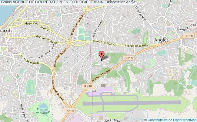 plan association Agence De Cooperation En Ecologie Urbaine