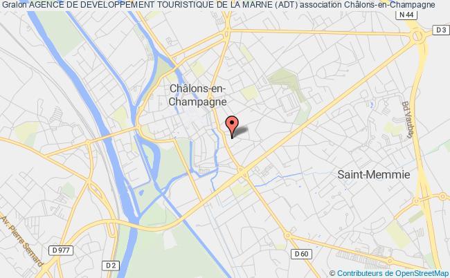 plan association Agence De Developpement Touristique De La Marne (adt)