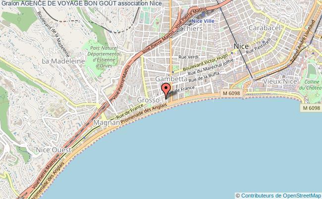 plan association Agence De Voyage Bon GoÛt