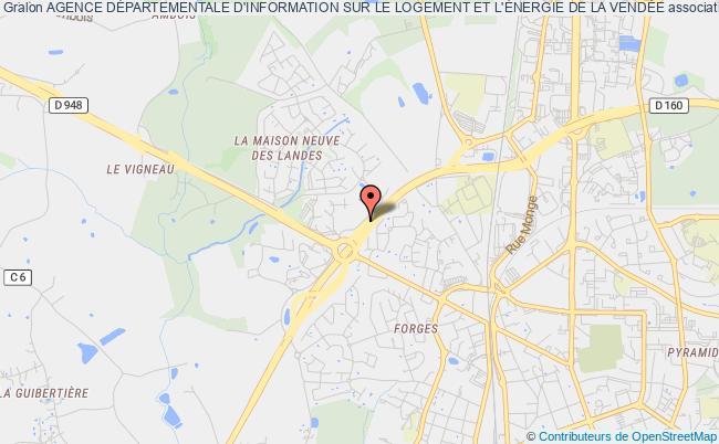 plan association Agence Departementale D'information Sur Le Logement De Vendee La    Roche-sur-Yon