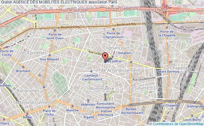 plan association Agence Des Mobilites Electriques