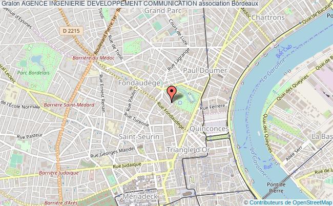 plan association Agence Ingenierie Developpement Communication Bordeaux