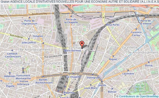 plan association Agence Locale D'initiatives Nouvelles Pour Une Économie Autre Et Solidaire (a.l.i.n.e.a.s)