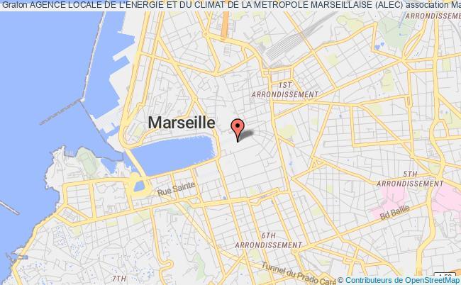 plan association Agence Locale De L'energie Et Du Climat De La Metropole Marseillaise (alec)