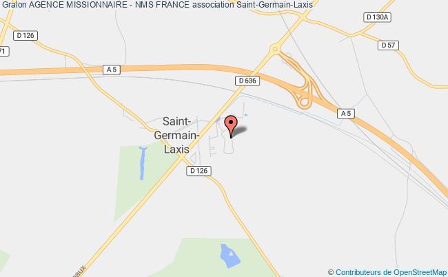 plan association Agence Missionnaire - Nms France Saint-Germain-Laxis