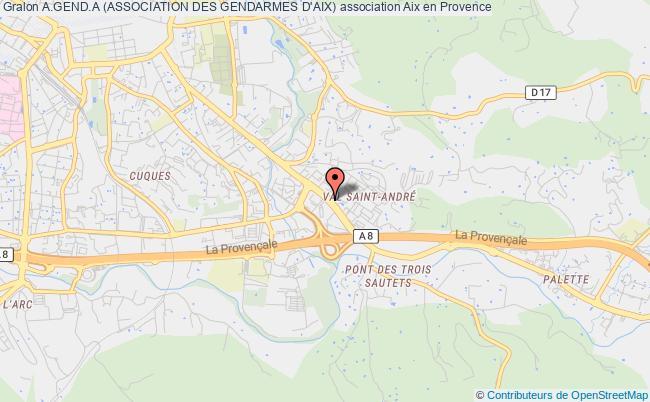 plan association A.gend.a (association Des Gendarmes D'aix)
