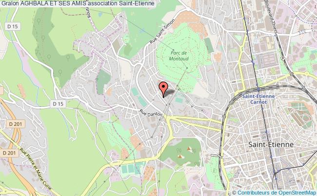 plan association Aghbala Et Ses Amis Saint-Etienne