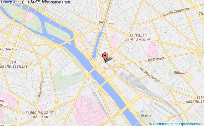 plan association Agile France Paris