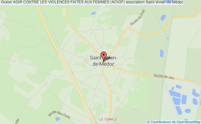 plan association Agir Contre Les Violences Faites Aux Femmes (acv2f) Saint-Vivien-de-Médoc