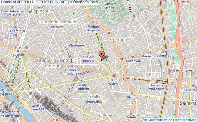 plan association Agir Pour L'education (ape)