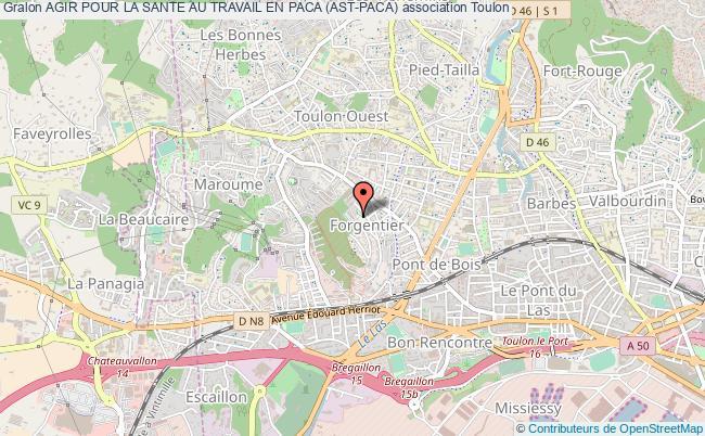 plan association Agir Pour La Sante Au Travail En Paca (ast-paca)