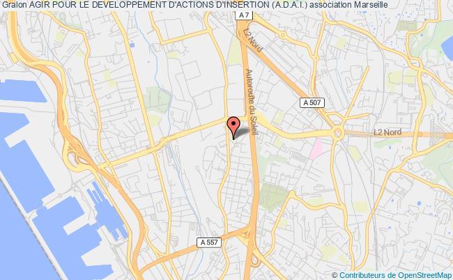 plan association Agir Pour Le Developpement D'actions D'insertion (a.d.a.i.) Marseille