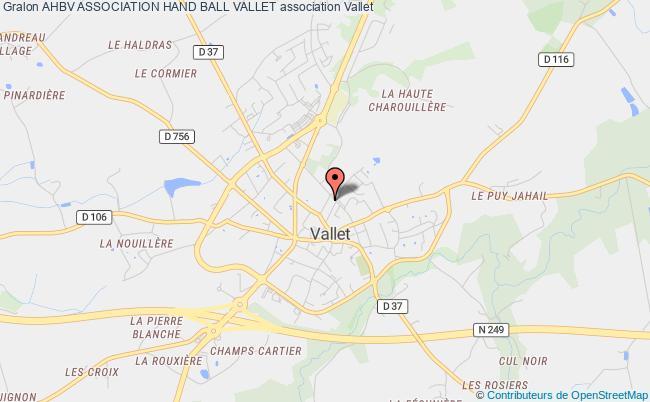 plan association Ahbv Association Hand Ball Vallet