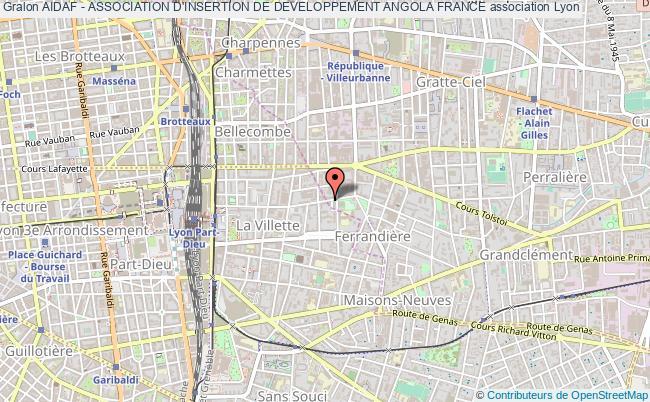 plan association Aidaf - Association D'insertion De Developpement Angola France