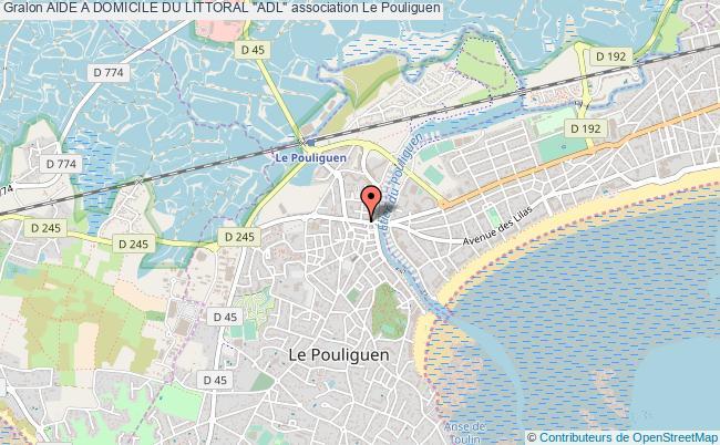 """plan association Aide A Domicile Du Littoral """"adl"""""""