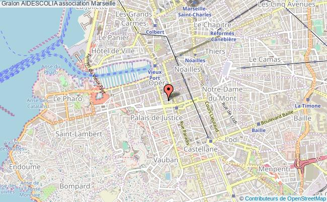 plan association Aidescolia Marseille