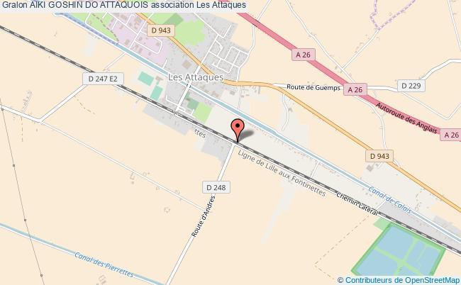 plan association Aiki Goshin Do Attaquois
