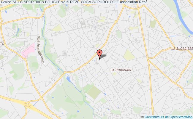 plan association Ailes Sportives Bouguenais Reze Yoga-sophrologie