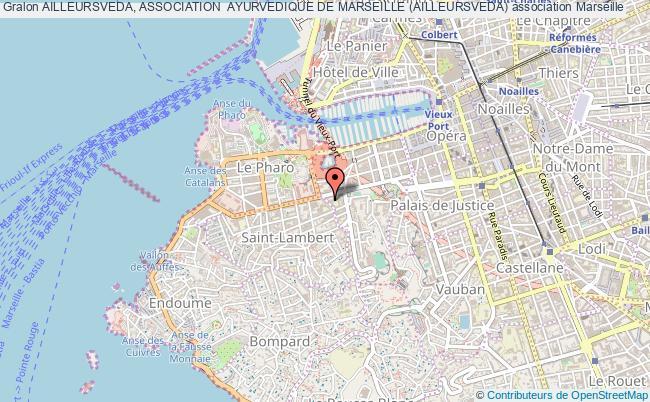 plan association Ailleursveda, Association  Ayurvedique De Marseille (ailleursveda)