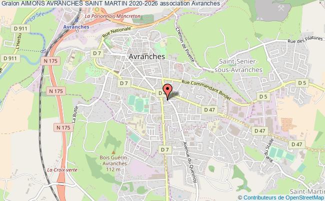 plan association Aimons Avranches Saint Martin 2020-2026