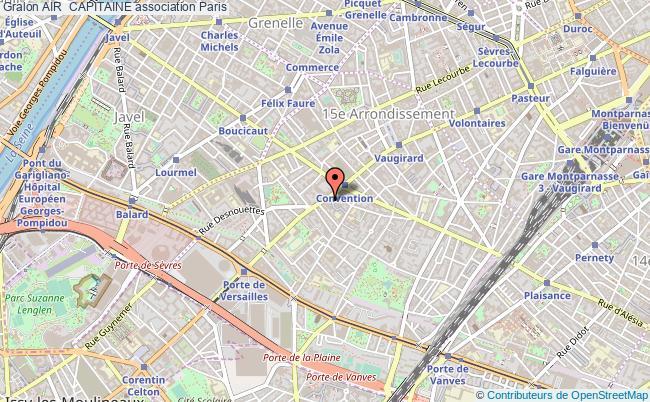 plan association Air  Capitaine Paris