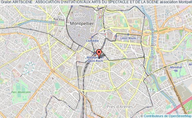plan association Airtscene : Association D'initiation Aux Arts Du Spectacle Et De La Scene