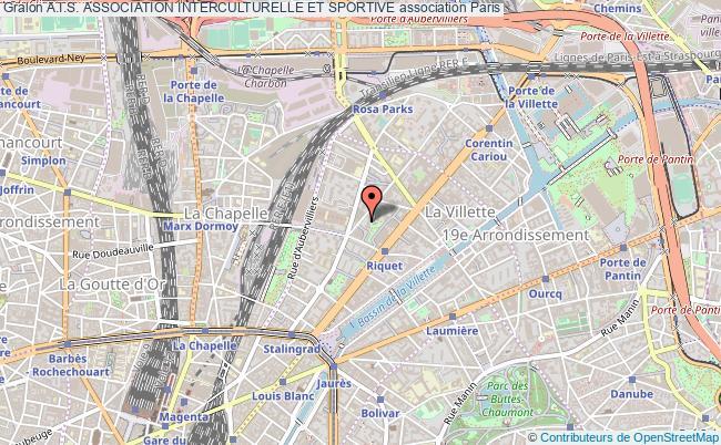 plan association A.i.s. Association Interculturelle Et Sportive