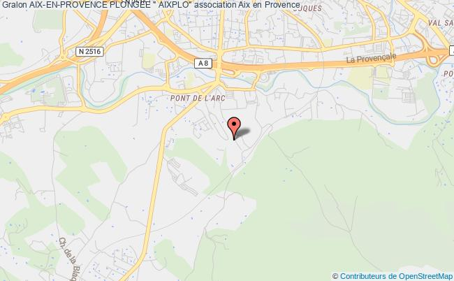 "plan association Aix-en-provence Plongee "" Aixplo"""