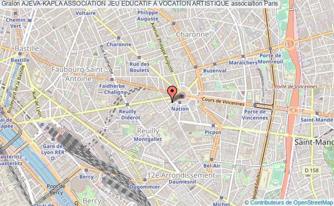 plan association Ajeva-kapla Association Jeu Educatif A Vocation Artistique