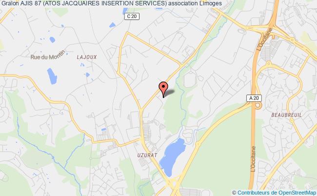 plan association Ajis 87 (atos Jacquaires Insertion Services)