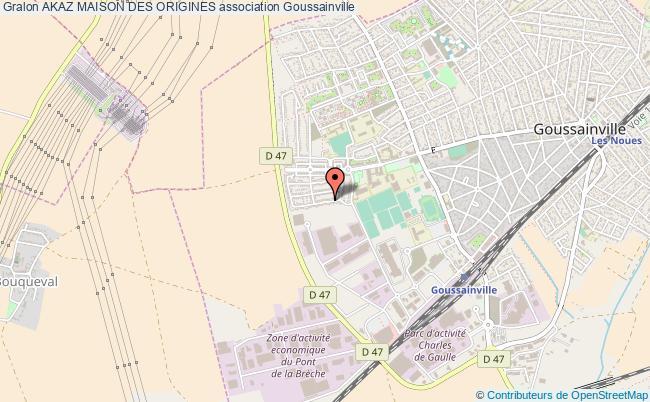 plan association Akaz Maison Des Origines Goussainville