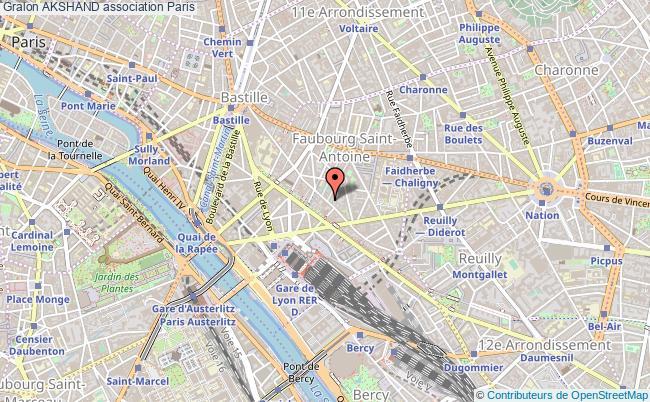 plan association Akshand Paris 12e