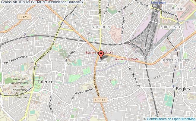 plan association Akuen Movement Bordeaux