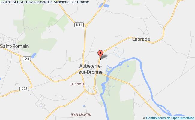 plan association Albaterra Aubeterre-sur-Dronne