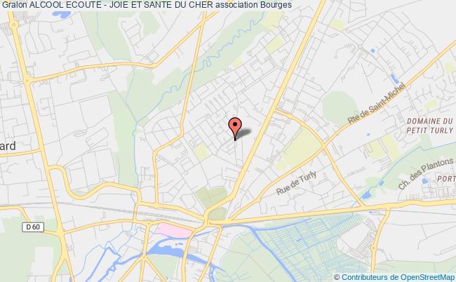 plan association Alcool Ecoute - Joie Et Sante Du Cher Bourges