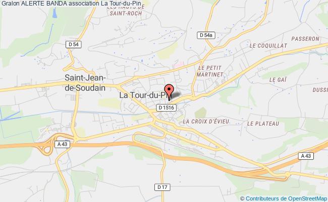 plan association Alerte Banda Tour-du-Pin
