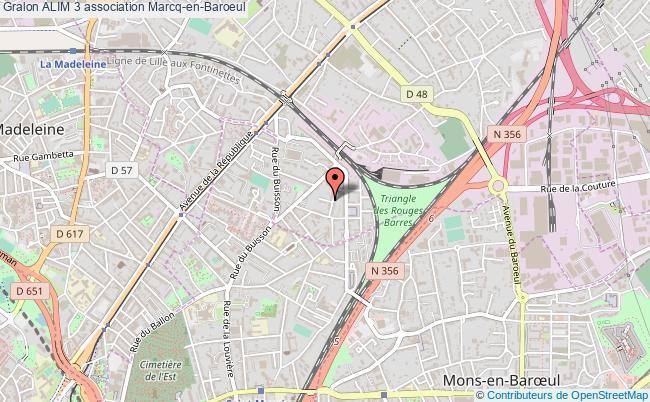 plan association Alim 3 Marcq-en-Baroeul