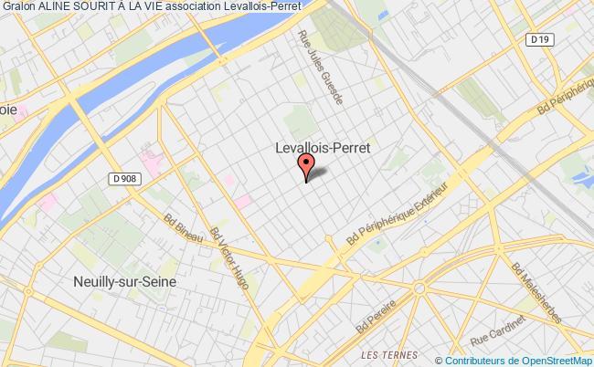 plan association Aline Sourit À La Vie Garenne-Colombes