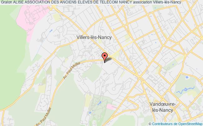plan association Alise Association Des Anciens Eleves De Telecom Nancy