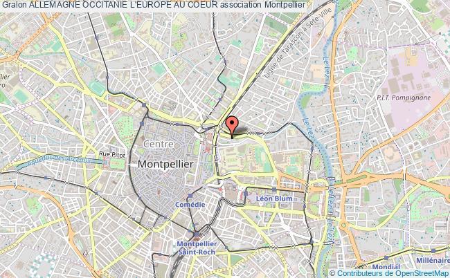 plan association Allemagne Occitanie L'europe Au Coeur